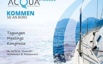 Pressebesuch im ACQUA Strande – die Kieler Nachrichten berichten – und wir auch!