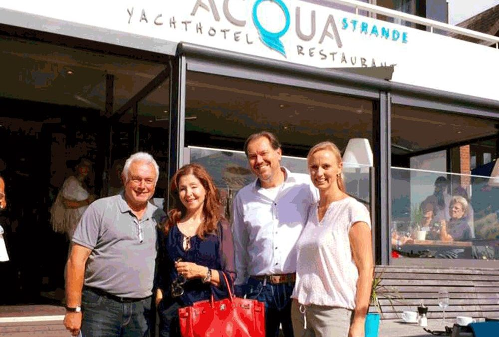 Prominenter Besuch im ACQUA – Frauenpower beim Ladies Lunch